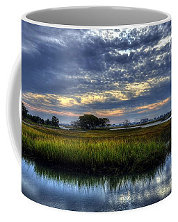 Coffee Mug featuring the photograph Murrells Inlet Morning 3 by Mel Steinhauer