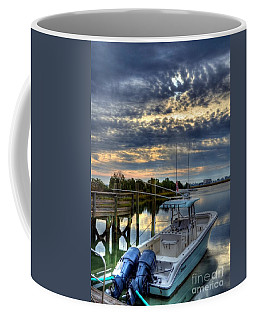 Coffee Mug featuring the photograph Murrells Inlet Morning 4 by Mel Steinhauer