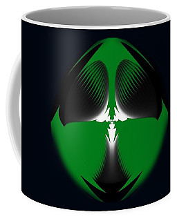 Coffee Mug featuring the digital art Muses In Minimalism by Mike Breau