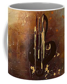 Music All Around Us Coffee Mug by Carmen Guedez