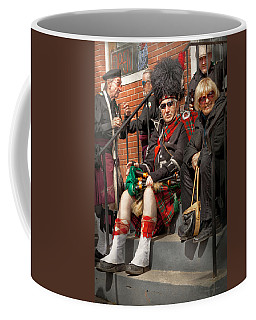 Music - Bag Pipes - Somerville Nj - Piper Resting Coffee Mug