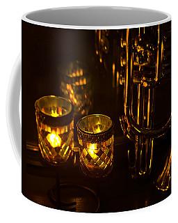 Trumpet And Candlelight Coffee Mug