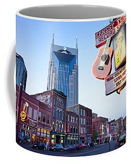 Music City Usa Coffee Mug
