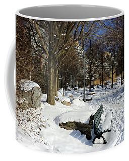 Music Garden Winter Coffee Mug