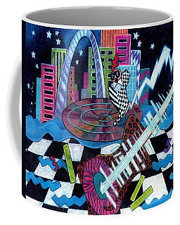 Music On The River Stl Style Coffee Mug