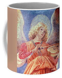 Musical Angel With Violin Coffee Mug