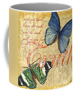Musical Butterflies 3 Coffee Mug