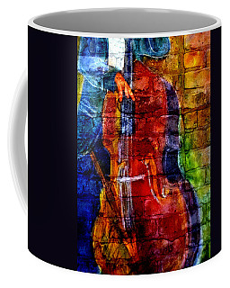 Musician Bass And Brick Coffee Mug