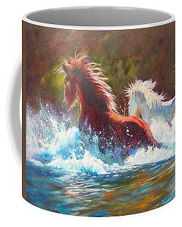 Mustang Splash Coffee Mug