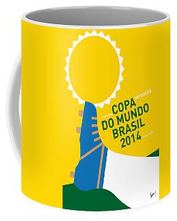 My 2014 World Cup Soccer Brazil - Rio Minimal Poster Coffee Mug