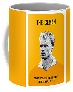 My Bergkamp Soccer Legend Poster Coffee Mug