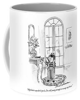 My Broker Says Don't Panic Coffee Mug