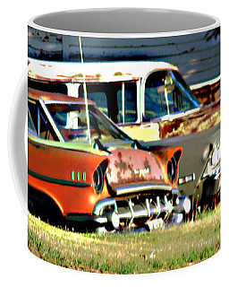 Coffee Mug featuring the digital art My Cars by Cathy Anderson