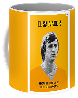 My Cruijff Soccer Legend Poster Coffee Mug