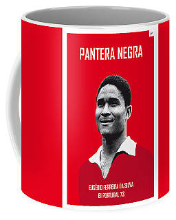 My Eusebio Soccer Legend Poster Coffee Mug