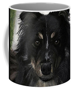 Coffee Mug featuring the painting My Favorite Bud by Sharon Duguay
