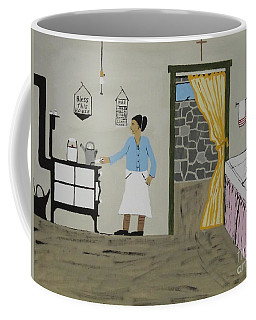 Coffee Mug featuring the painting Coal Miners Wife by Jeffrey Koss