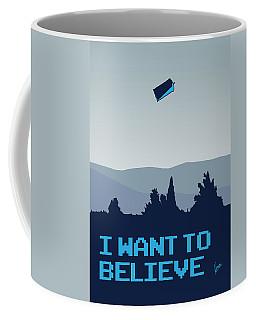 My I Want To Believe Minimal Poster- Tardis Coffee Mug