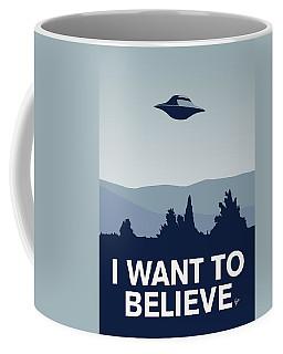 My I Want To Believe Minimal Poster-xfiles Coffee Mug