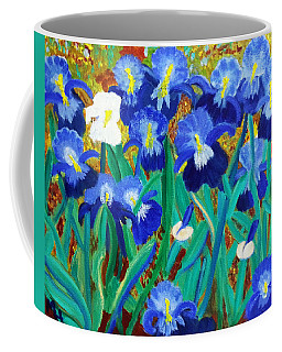 My Iris - Inspired  By Vangogh Coffee Mug