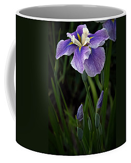 Coffee Mug featuring the photograph My Iris by Penny Lisowski