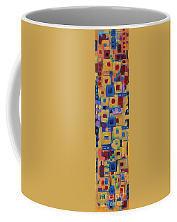 Coffee Mug featuring the painting My Jazz N Blues 1 by Holly Carmichael
