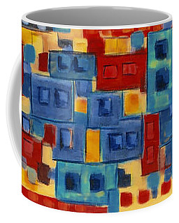 Coffee Mug featuring the painting My Jazz N Blues 2 by Holly Carmichael