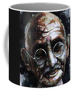 Coffee Mug featuring the painting My Life Is My Message by Laur Iduc