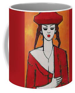 My Little Secret Oil On Board Coffee Mug