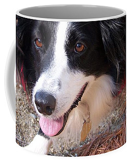 Female Border Collie Coffee Mug