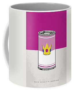 My Mario Warhols Minimal Can Poster-peach Coffee Mug