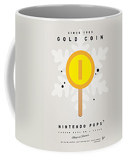 My Nintendo Ice Pop - Gold Coin Coffee Mug