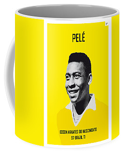 My Pele Soccer Legend Poster Coffee Mug