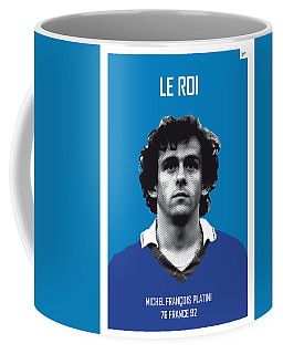 My Platini Soccer Legend Poster Coffee Mug