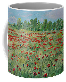 My Poppies Field Coffee Mug