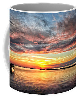My Return To Cape Charles Virginia Coffee Mug