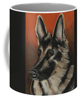 Coffee Mug featuring the painting My Sadie by Jeanne Fischer