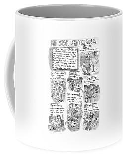 My Spam Sketchbook Coffee Mug