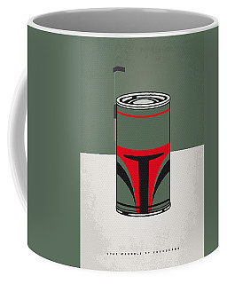 My Star Warhols Boba Fett Minimal Can Poster Coffee Mug