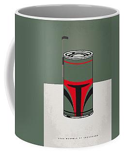 My Star Warhols Boba Fett Minimal Can Poster Coffee Mug