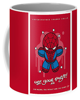 My Supercharged Voodoo Dolls Spiderman Coffee Mug