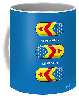 My Superhero Pills - Wonder Woman Coffee Mug