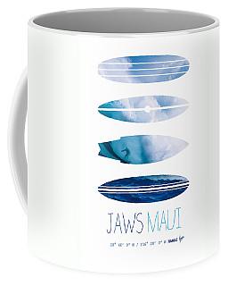 My Surfspots Poster-1-jaws-maui Coffee Mug