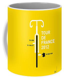 My Tour De France 2012 Minimal Poster Coffee Mug by Chungkong Art