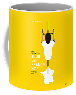 My Tour De France Minimal Poster Coffee Mug
