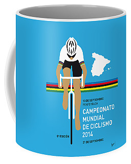 My Uci Road World Championships Minimal Poster 2014 Coffee Mug