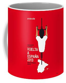 My Vuelta A Espana Minimal Poster - 2013 Coffee Mug