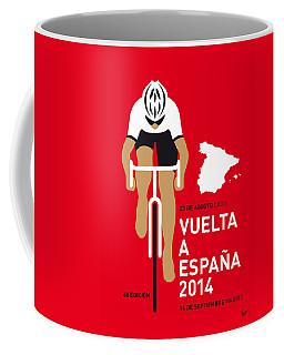 My Vuelta A Espana Minimal Poster 2014 Coffee Mug