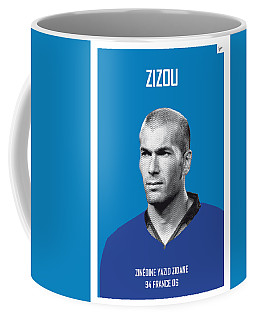 My Zidane Soccer Legend Poster Coffee Mug