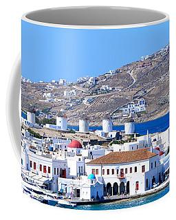 Mykonos Port Coffee Mug